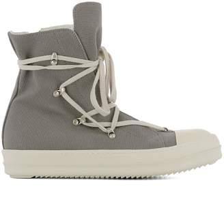 Drkshdw Grey Fabric Sneakers