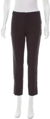 Burberry Mid-Rise Straight-Leg Pants