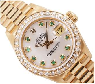 Rolex Lady DateJust 26mm yellow gold watch