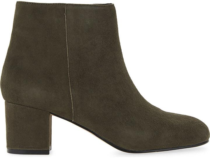 AldoAldo Ciredia suede heeled ankle boots