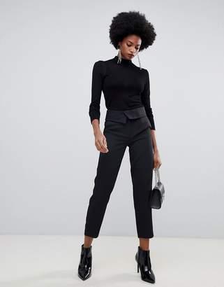 Sisley high waisted tailored PANTS