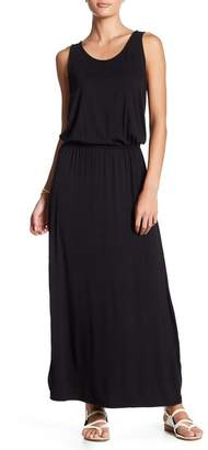 14TH PLACE Elasticized Waist Knit Maxi Dress $56 thestylecure.com