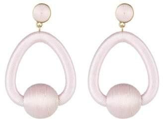 BaubleBar Mariela Woven Hoop Drop Earrings