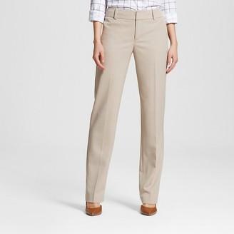 Merona Women's Bi-Stretch Twill Straight Leg Classic Pant - Merona $27.99 thestylecure.com