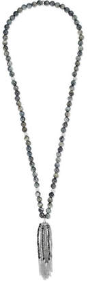 Carolina Bucci Recharmed 18-karat White Gold Eagle Eye Necklace