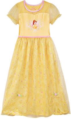 Disney Little & Big Girls Princess Belle Nightgown