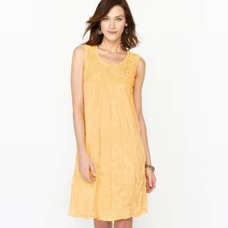 Anne Weyburn Crinkled Jersey Dress