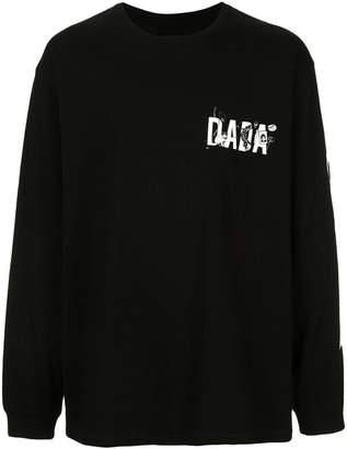 Christian Dada lettering logo print T-shirt