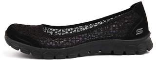 Skechers 23413 ez flex-majesty Black-black Shoes Womens Shoes Active Flat Shoes