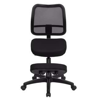 Offex Mid-Back Height Adjustable Kneeling Chair with Dual Wheel