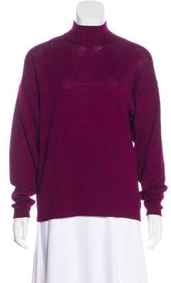 St. John Long Sleeve Turtle Neck Sweater