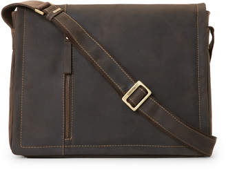 Visconti Brown Foster Laptop Messenger Bag