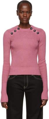 Etoile Isabel Marant Pink Koyle Ribbed Sweater