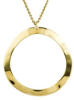 Ippolita 18K Classico Large Wavy Circle Pendant Necklace yellow 18K Classico Large Wavy Circle Pendant Necklace