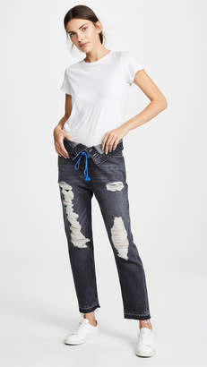 Hudson Jessi Relaxed Cropped Jeans