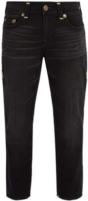 True Religion Contrast-stitched jeans