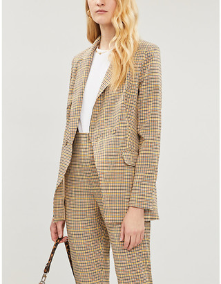 NEVER FULLY DRESSED Dynasty woven blazer