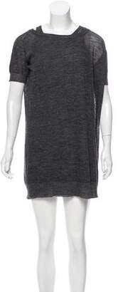 Nina Ricci Alpaca-Blend Sweater Dress