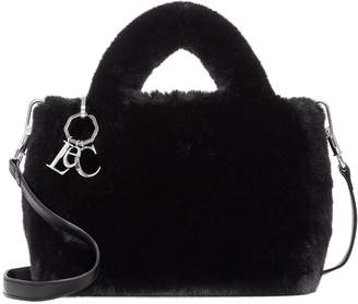 Louise et Cie Aisa Faux Fur Small Satchel