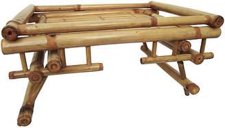 One Kings Lane Vintage Asian Bamboo Tray - AntiqueLifestyle