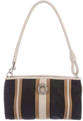 Bottega Veneta Leather-Trimmed Woven Bag