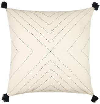 "Anchal Project 22"" Geometric Tassel Toss Pillow"
