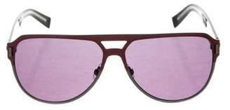 8c6f05a6ae Christian Dior Black Tie 2.0S Aviator Sunglasses w  Tags