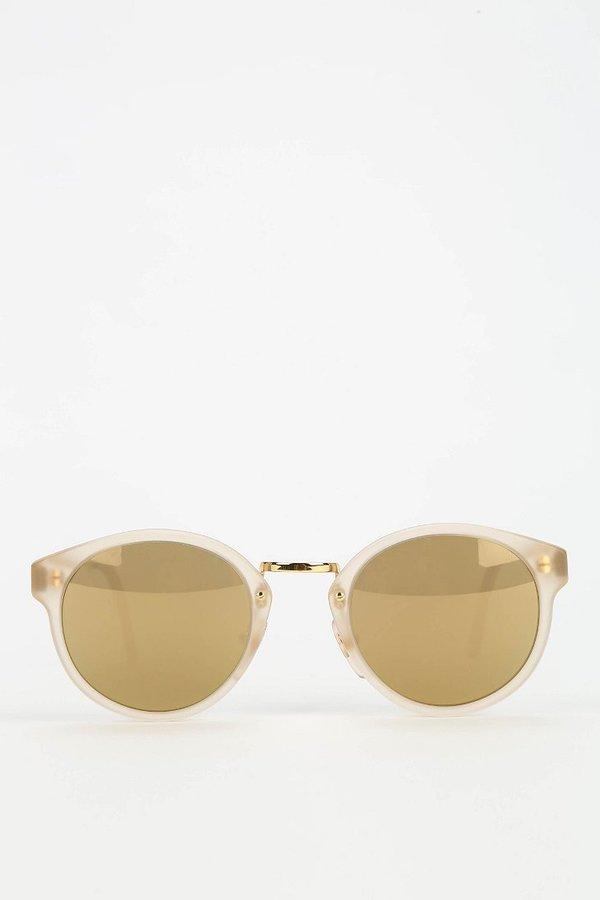 Super Panama Oracle Round Sunglasses