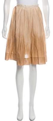 Theory Pleated Ombré Skirt