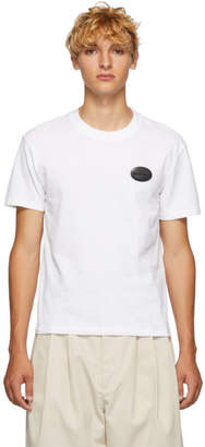 Ribeyron White Logo Applique T-Shirt