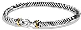 David Yurman Women's Cable Buckle Bracelet with Gold/4mm