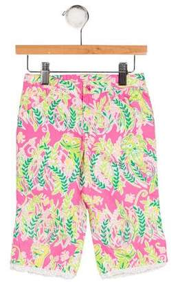 Lilly Pulitzer Girls' Printed Two Pocket Pants