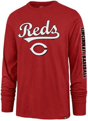 '47 Men Cincinnati Reds Rival Local Long Sleeve T-Shirt