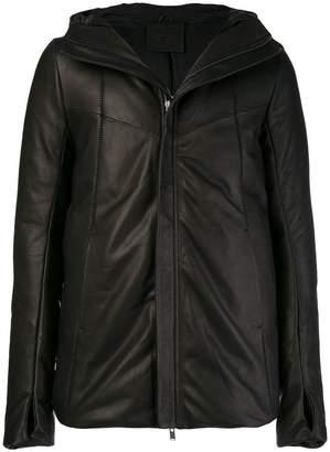 10Sei0otto hooded thumb hole jacket