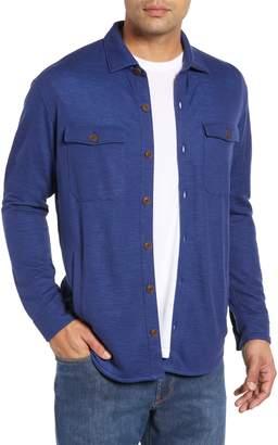 Peter Millar Seaside Regular Fit Knit Shirt Jacket
