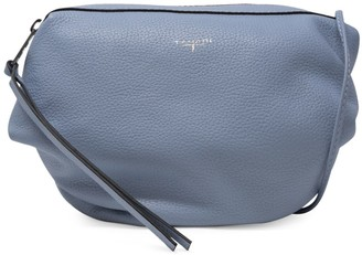T Tahari Leather Top Zip Crossbody