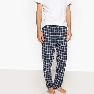 La Redoute Collections Checked Flannel Pyjama Trousers