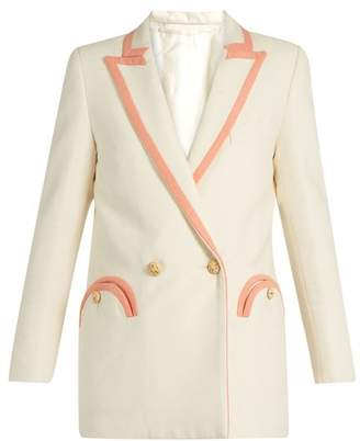 DAY Birger et Mikkelsen Blazé Milano Blaze Milano - Mmm By Silk Blend Boucle Blazer - Womens - Cream