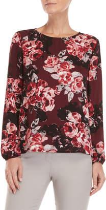philosophy Floral Button Back Blouse
