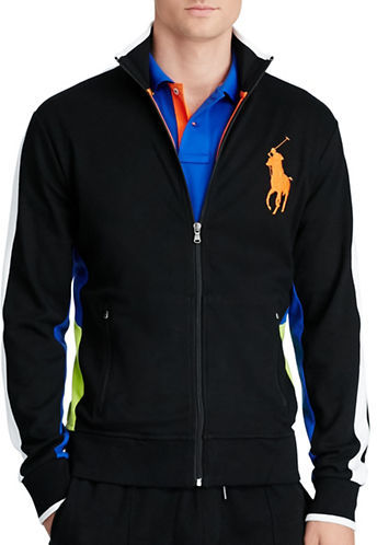 Polo Ralph Lauren Cotton Interlock Track Jacket