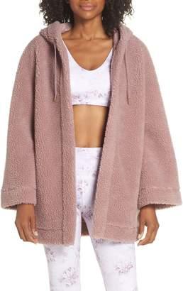 Varley Open Front Fleece Jacket