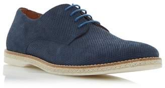 Dune Navy 'Barrock' Espadrille Rand Detail Gibson Shoes