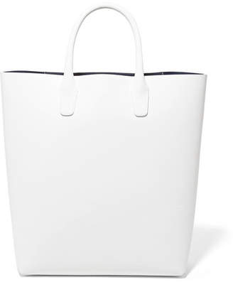Mansur Gavriel Leather Tote - White