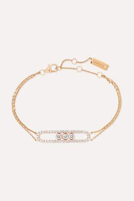 Möve Messika Classic 18-karat Pink Gold Diamond Bracelet - Rose gold