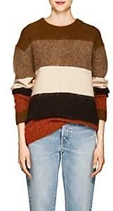 Acne Studios Women's Albah Striped Wool Sweater-Orange