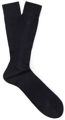 Tom Ford Ribbed Cotton Socks