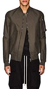 Rick Owens Men's Flight Canvas Bomber Jacket - Dark Gray