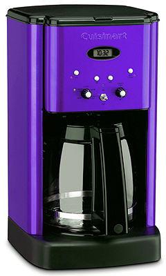 Cuisinart DCC-1200 12 Cup Metallic Purple Brew Central Coffee Maker