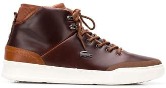 bdefa7dc044ece Showing 16 Men s Boots filtered to 1 brand. 30% off   FF2019 at Farfetch ·  Lacoste lace-up boots