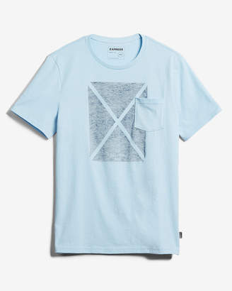 Express Exp Flag Pocket Graphic Tee
